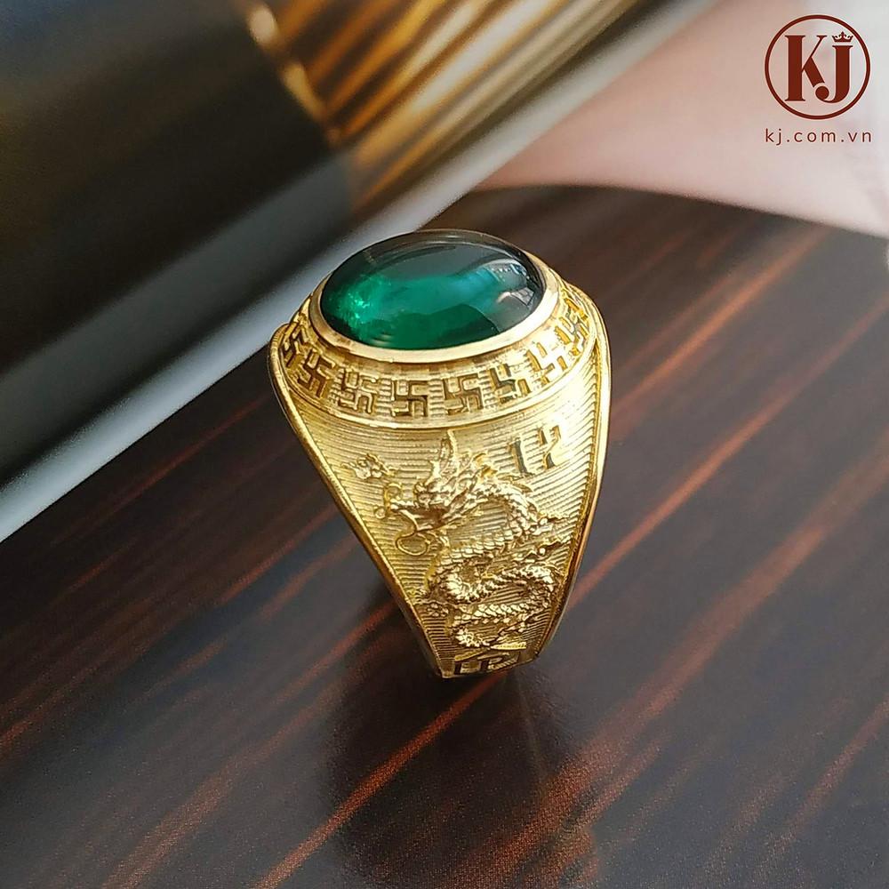 Nhẫn Mỹ họa tiết Rồng