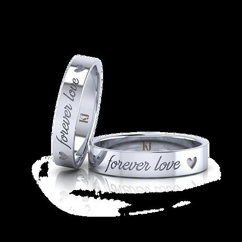 Nhẫn cưới forever love KJW0360