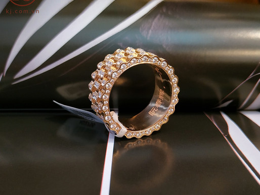 Tổng hợp những mẫu nhẫn nam đính đá, kim cương đẹp cho quý ông
