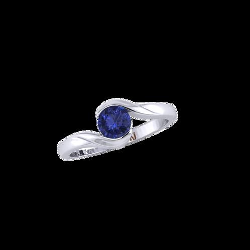 Nhẫn nữ đơn giản KJF0523