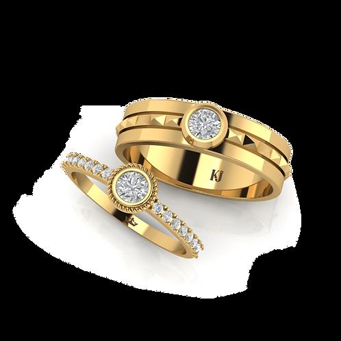 Nhẫn cưới KJW0228