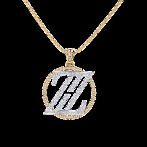 Mặt dây thiết kế theo yêu cầu chữ ZH KJP0383