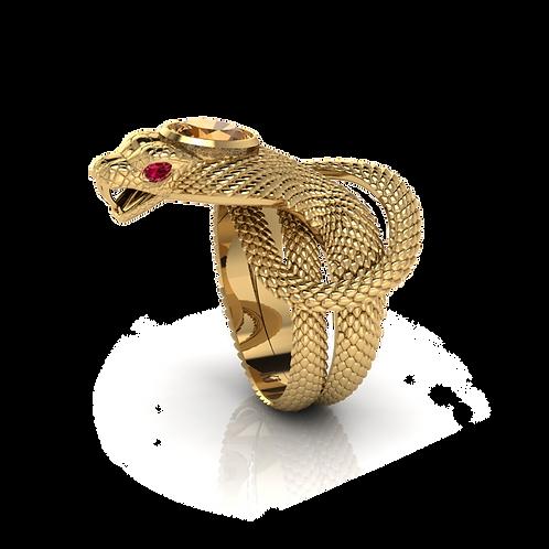 Nhẫn nam rắn KJM0693