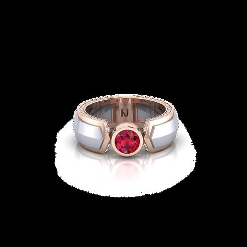 Nhẫn nam 2 màu KJM0588
