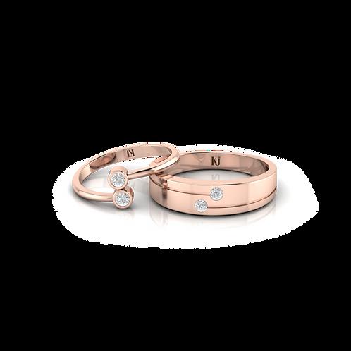 Nhẫn cưới Persephone KJW0234