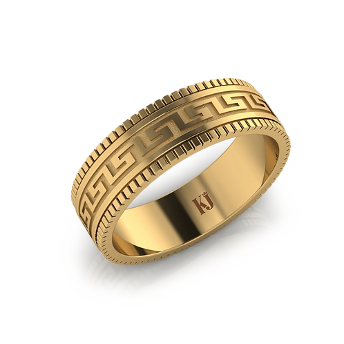 Nhẫn nam chữ Công KJM0844