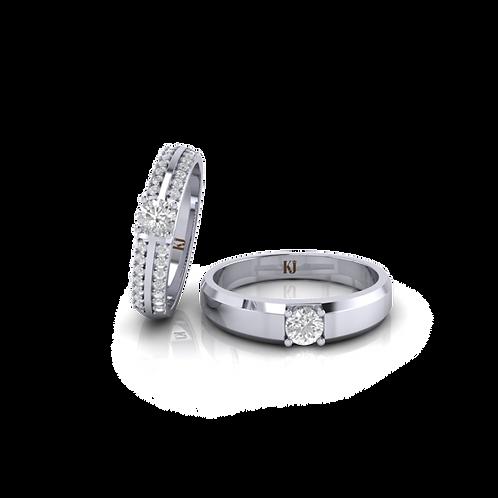 Nhẫn cưới đẹp KJW0304-2