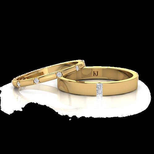 Nhẫn cưới KJW0231