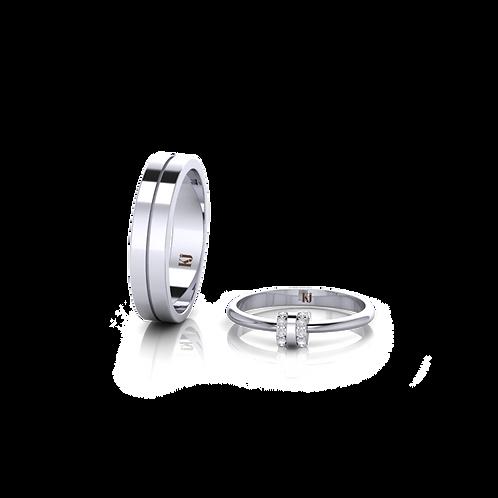 Nhẫn cưới Persephone KJW0274