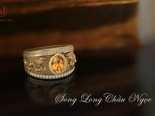 Chuyện về chiếc nhẫn Song Long Chầu Ngọc
