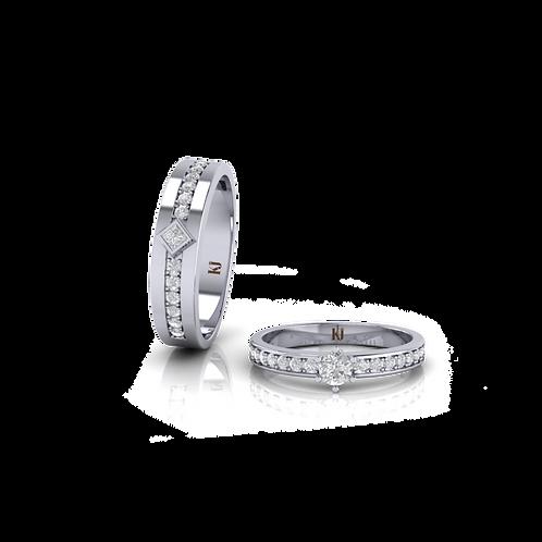 Nhẫn cưới Persephone KJW0239