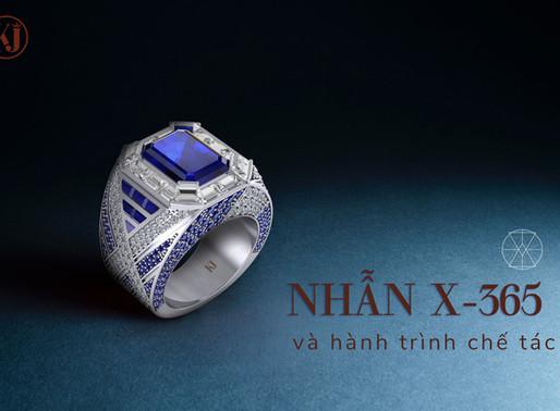 Hành trình chế tác chiếc nhẫn chữ X đặc biệt với 365 viên đá