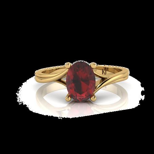Nhẫn nữ thiết kế KJF0441