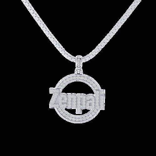 Mặt dây thiết kế theo yêu cầu chữ Zenpali KJP0382