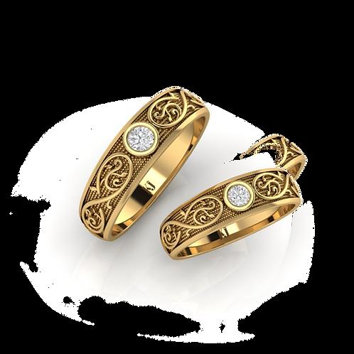 Nhẫn cưới KJW0042