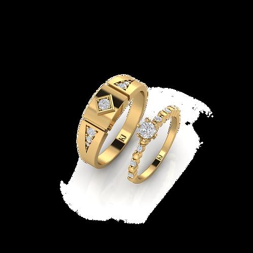 Nhẫn cưới Persephone KJW0270