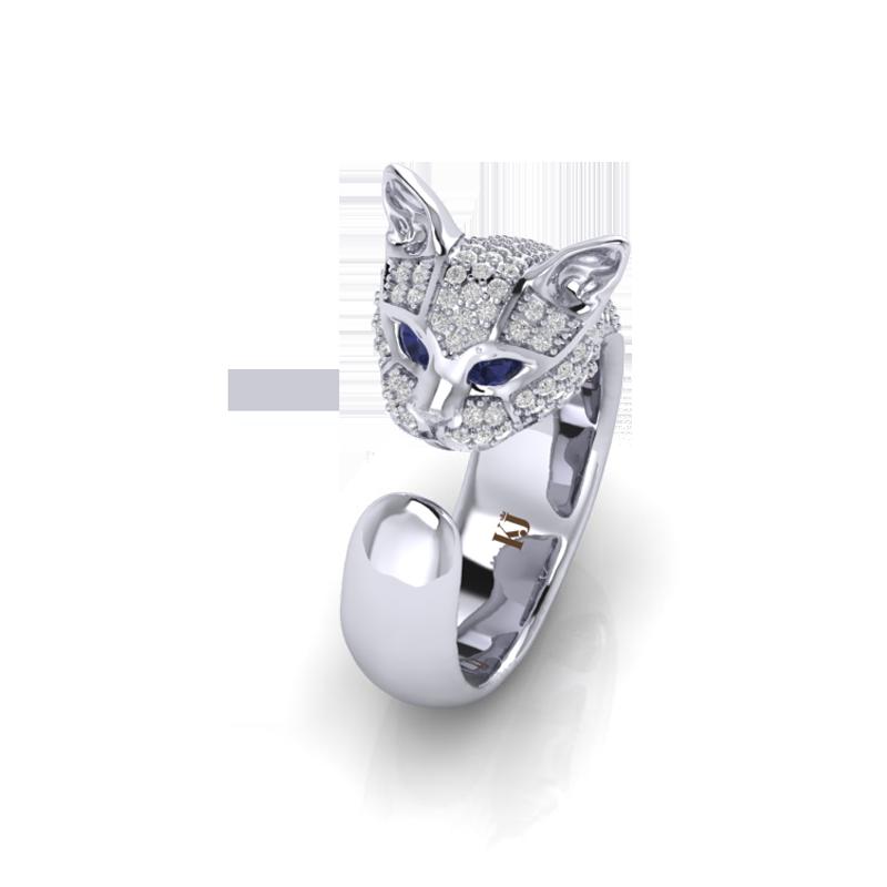 Mẫu nhẫn mèo Cat Ring của KJ