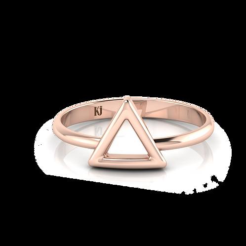 Nhẫn tam giác KJF0661