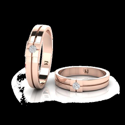 Nhẫn cưới thiết kế KJW0056