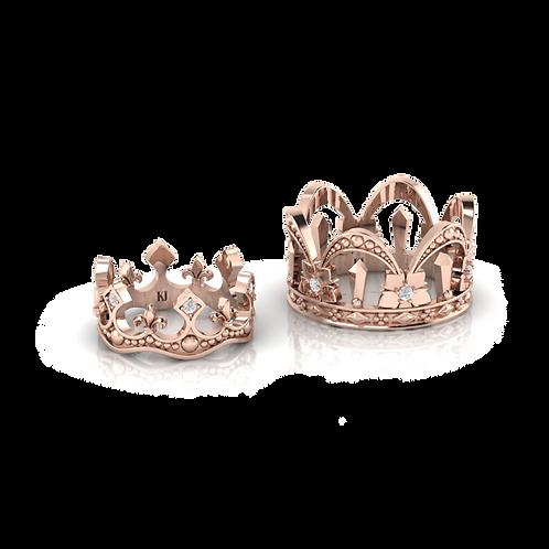 Nhẫn cưới vương miện KJW0552