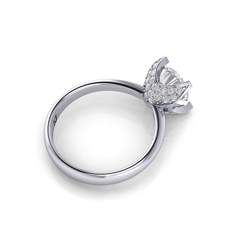 Nhẫn nữ thiết kế KJF0544