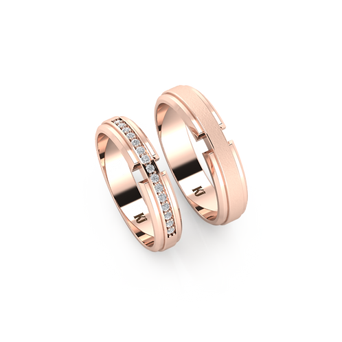 Nhẫn cưới đẹp KJW0307