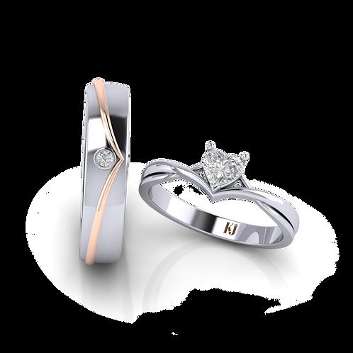Nhẫn cưới KJW0230