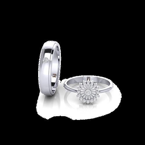 Nhẫn cưới Persephone KJW0276