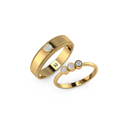 Nhẫn cưới Persephone KJW0235