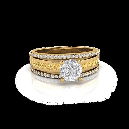 Nhẫn nữ thiết kế KJF0572