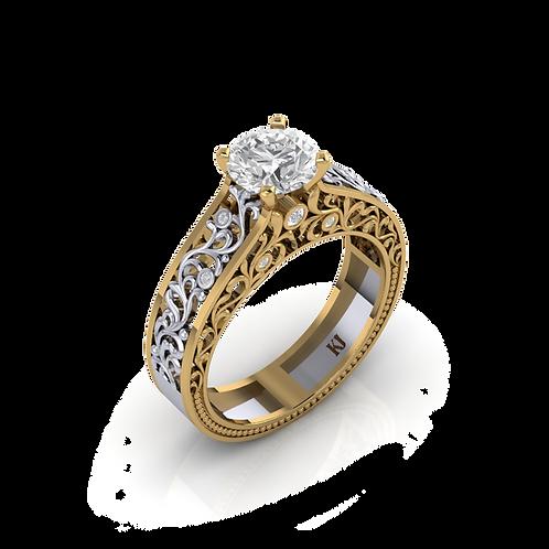 Nhẫn nữ thiết kế KJF0530