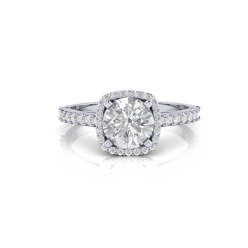 Nhẫn nữ thiết kế KJF0344