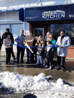 Grand Opening with the Medford Mayor