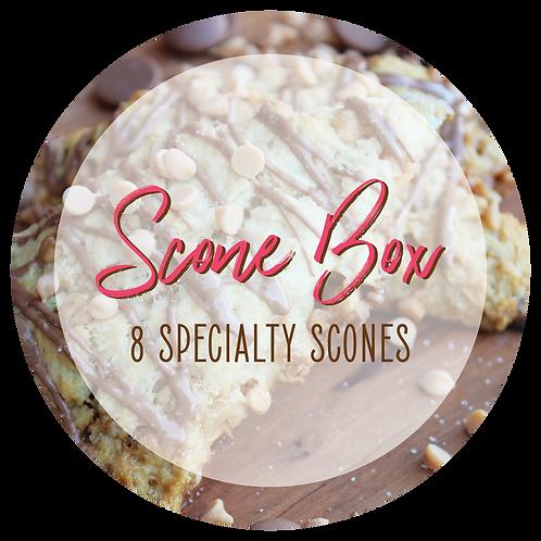 Specialty Scones - Box of 8