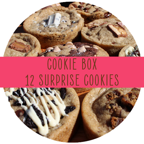 Surprise Cookie Box - 12 Cookies