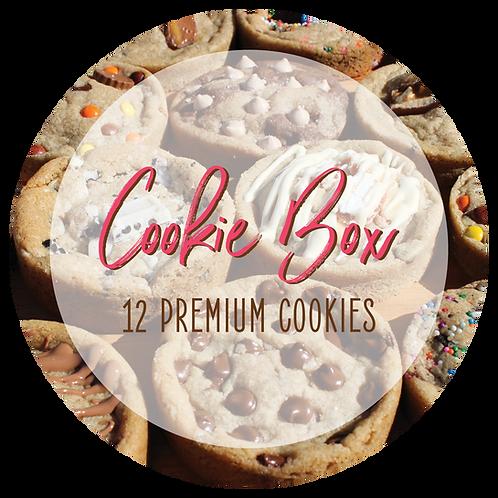 Premium Cookie Box - 12 Cookies