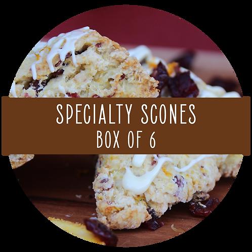 Specialty Scones - Box of 6