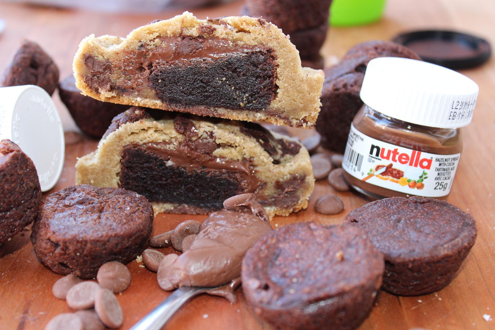 Nutella Brownie (brookie)