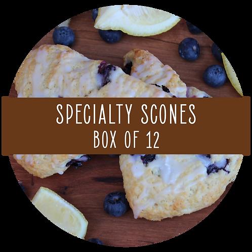 Specialty Scones - Box of 12