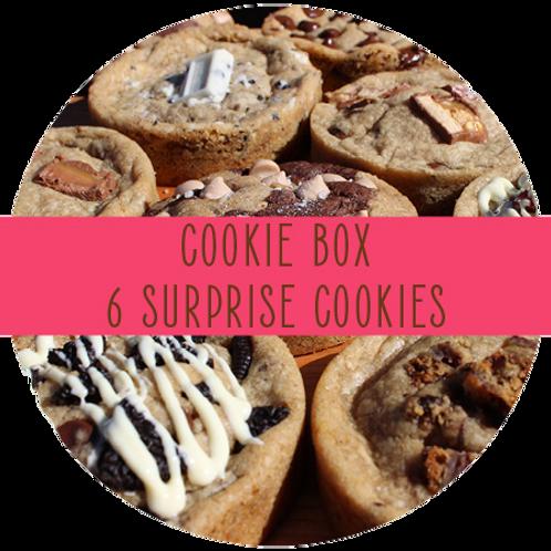 Surprise Cookie Box - 6 Cookies