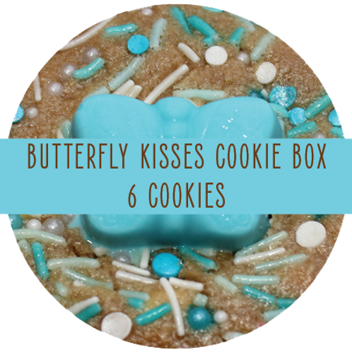 Butterfly Kisses Box - 6 Cookies