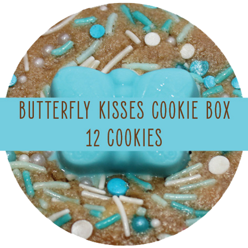 Butterfly Kisses Box - 12 Cookies