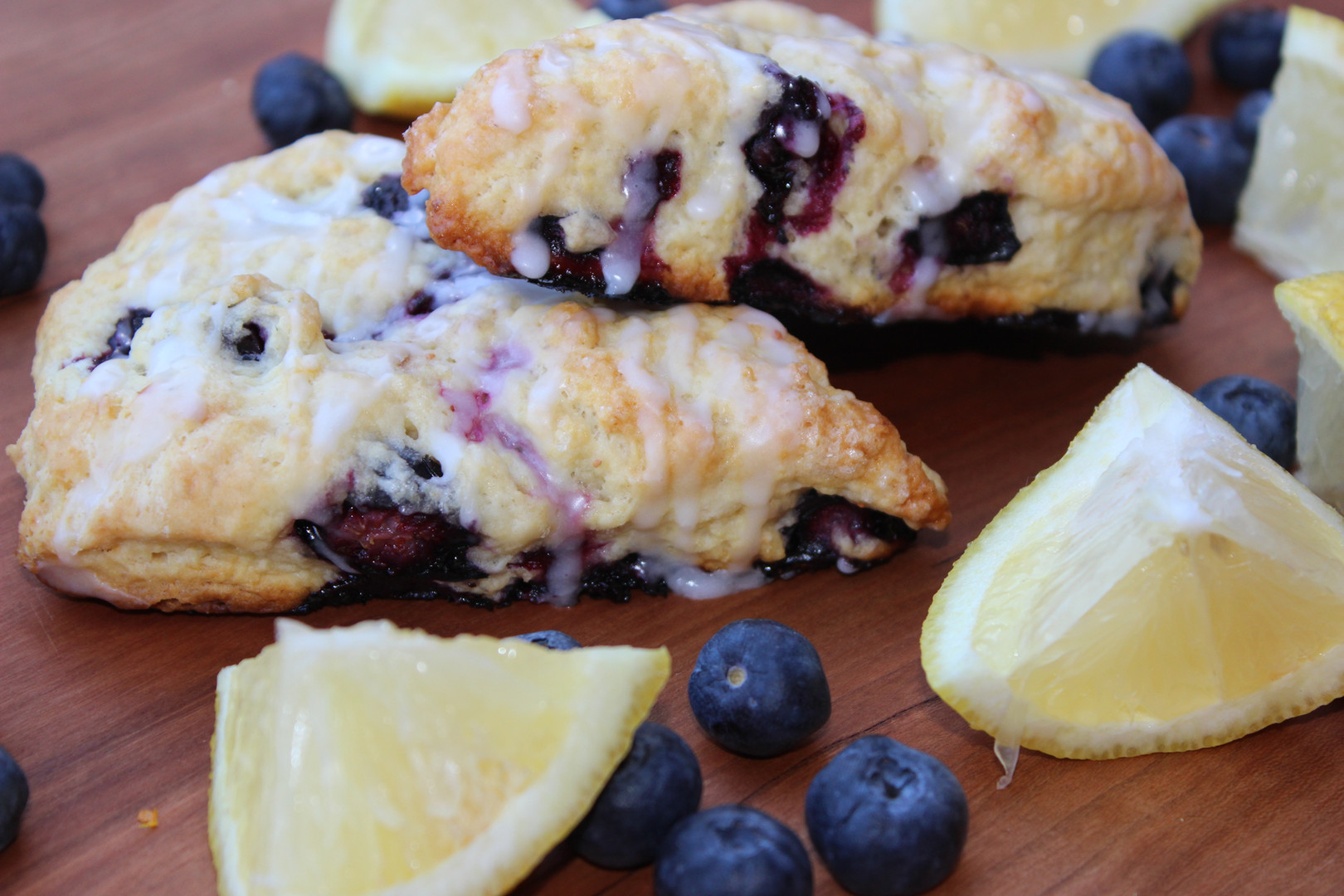 Blueberry Lemon Scone
