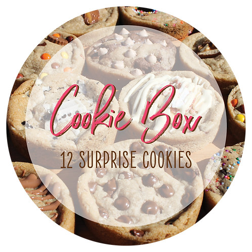 Surprise Cookie Box - 12 Cookies