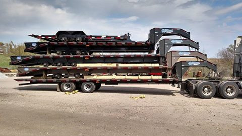 Fresh Load of Diamond C Trailers Came in Today