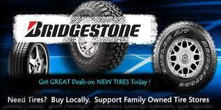 Great deals on Bridgestone Tires at Bentzinger Tire & Equipment. Buy locally.