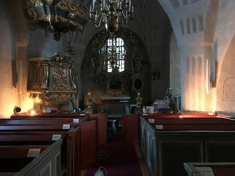 Boteå kyrka, installation av nytt ljud och hörslinga