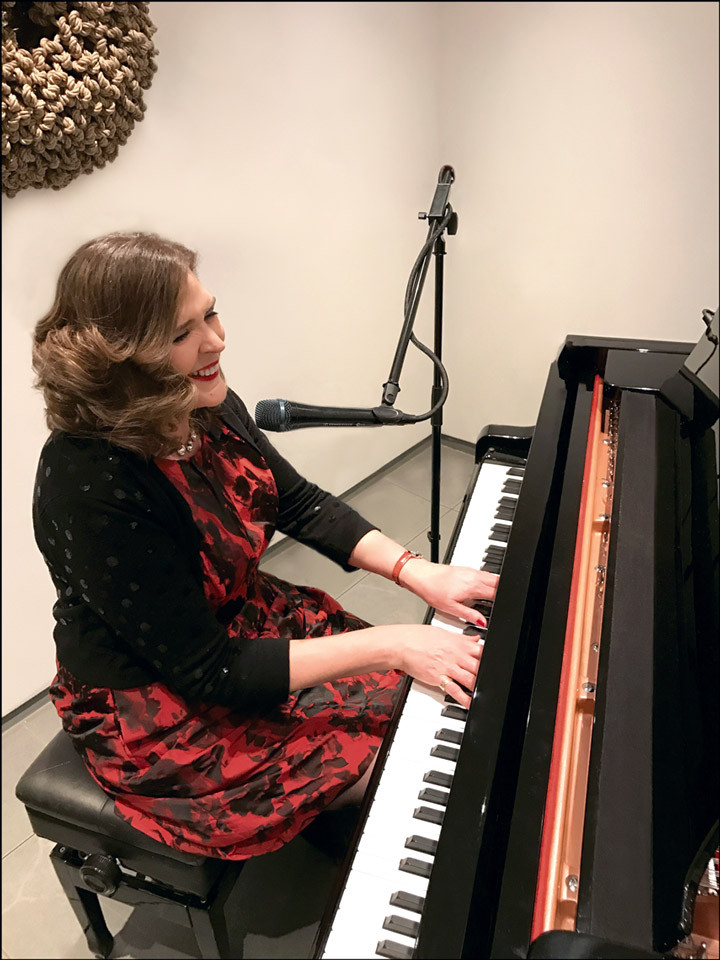 Hire New York Singing Pianist Alexandra Frederick for your event