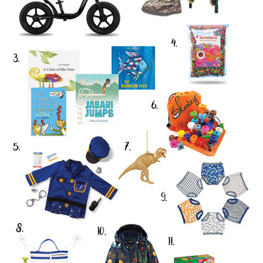 Holiday Gift Guide 2020   Toddler Boy Gift Guide