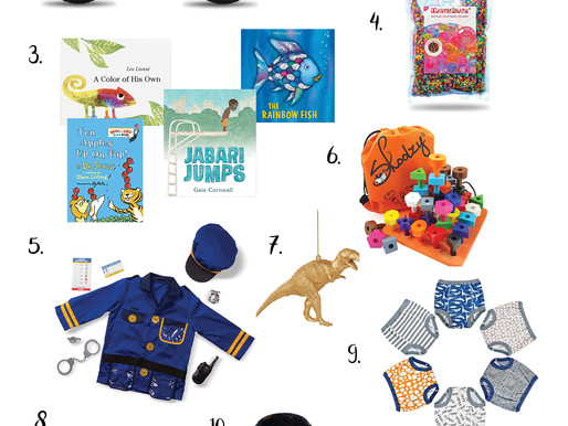 Holiday Gift Guide 2020 | Toddler Boy Gift Guide